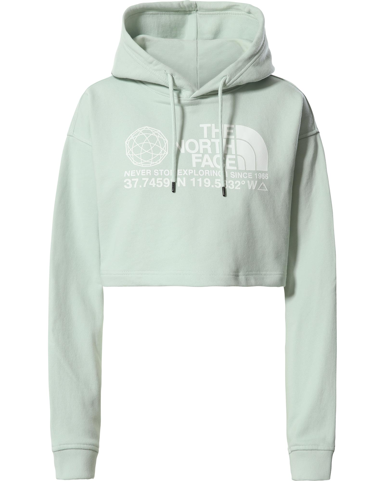 The North Face Coordinates Crop Drop Pullover Women's Hoodie 0