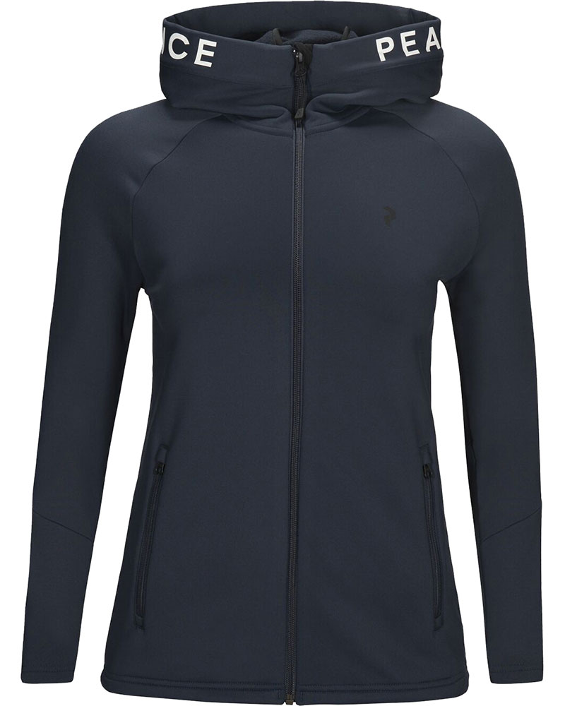 Peak Performance Women's Rider Zip Hoody Black 0