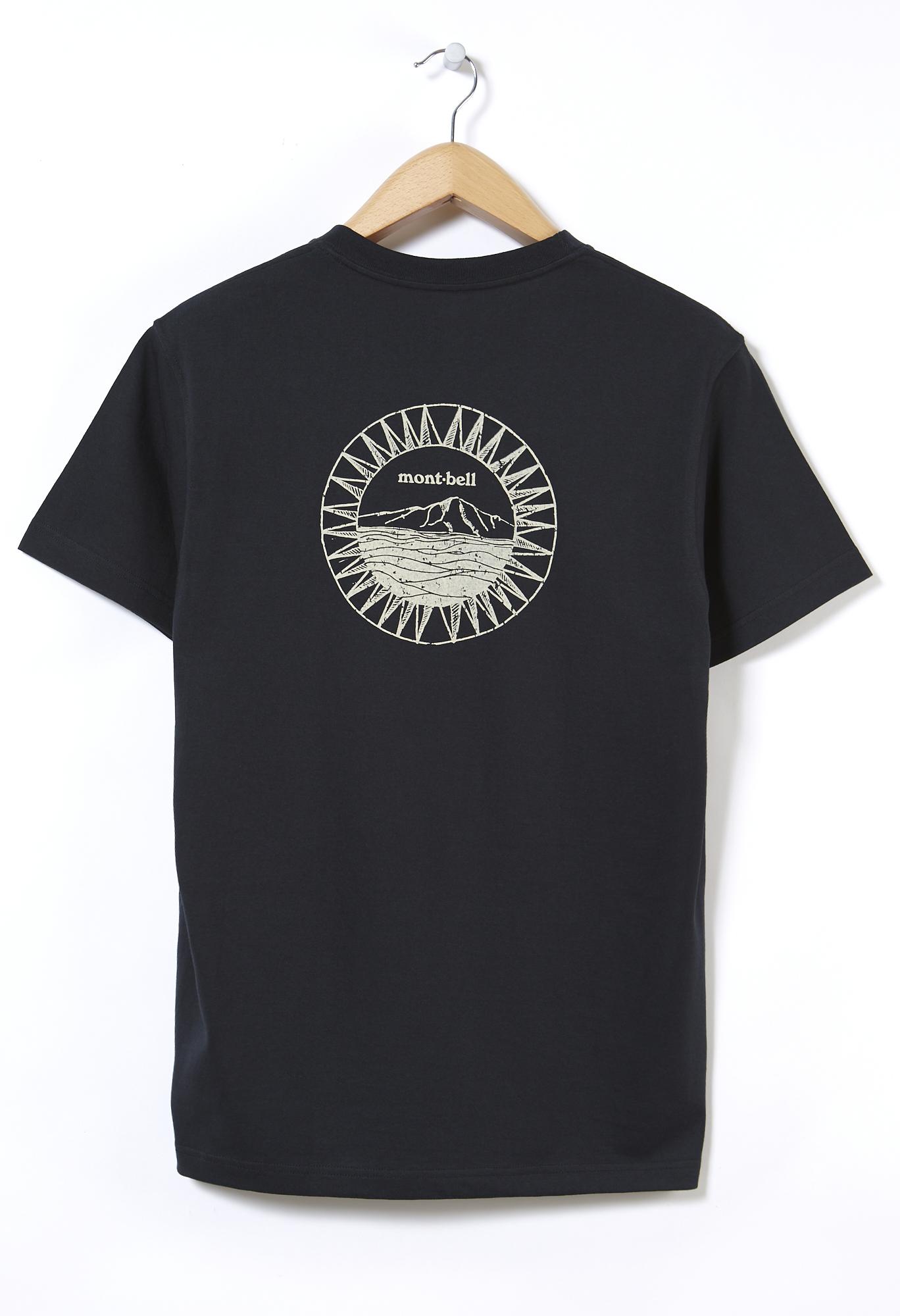 Montbell Pear Skin Cotton Shimayama T-Shirt 0