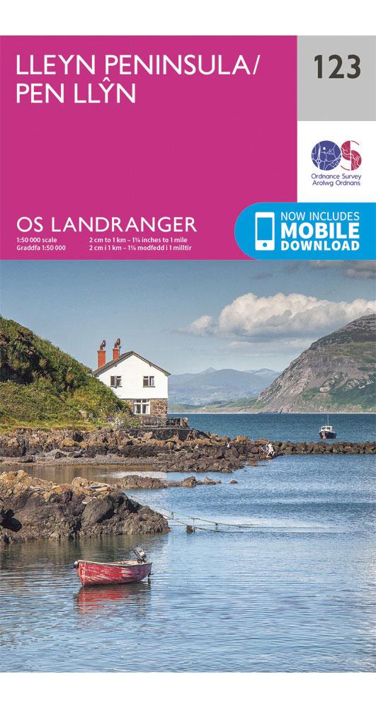 Ordnance Survey Lleyn Peninsula - Landranger 123 Map 0