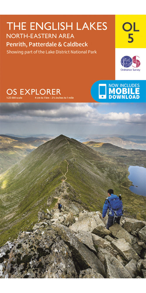 Ordnance Survey Explorer OL5: The English Lakes – North Eastern Area  0