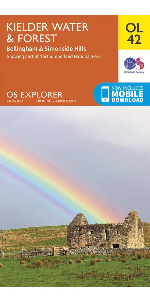 Ordnance Survey Explorer OL42: Kielder Water & Forest 0