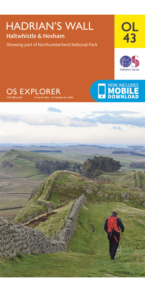 Ordnance Survey Explorer OL43: Hadrian's Wall  0