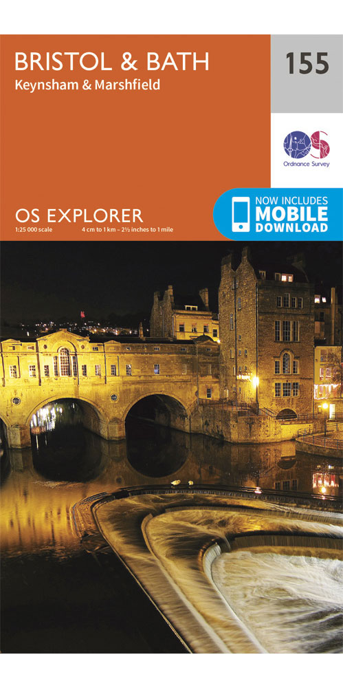 Ordnance Survey Explorer 155: Bristol & Bath  0