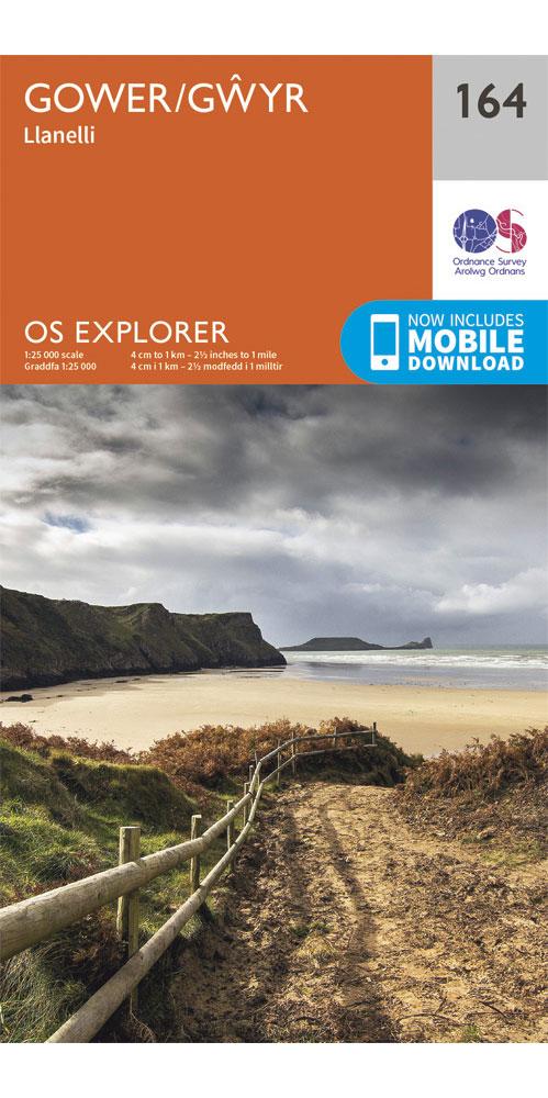 Ordnance Survey Explorer 164: Gower 0