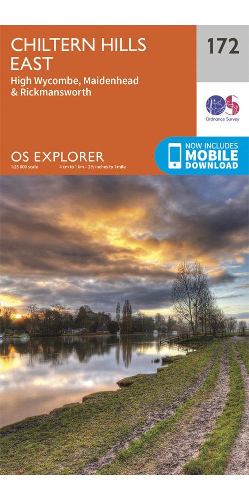 Ordnance Survey Explorer 172: Chiltern Hills East  0