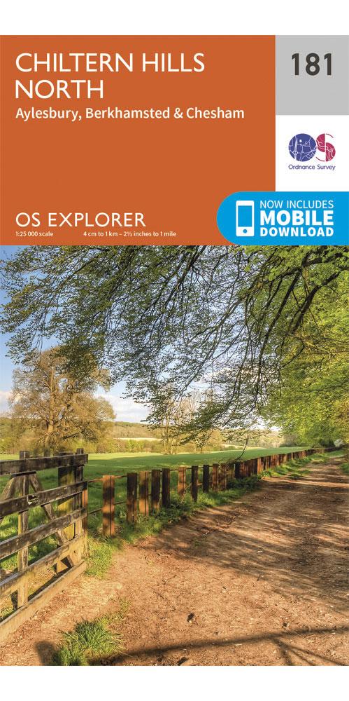 Ordnance Survey Explorer 181: Chiltern Hills North  0
