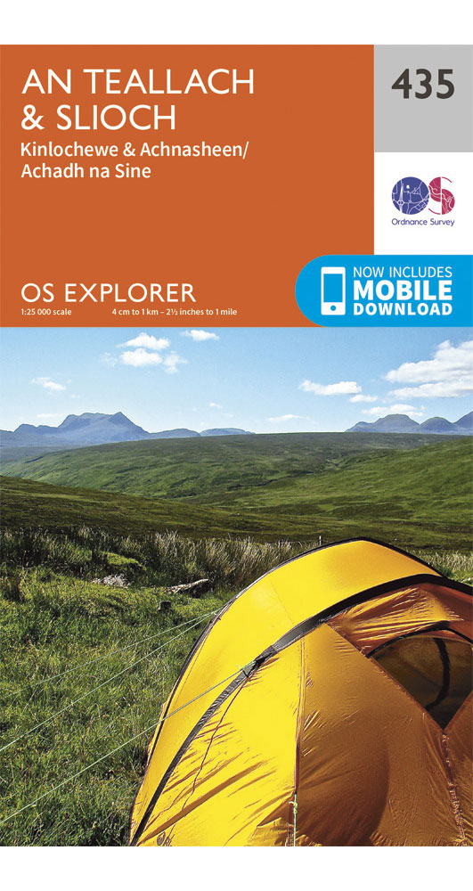 Ordnance Survey Explorer 435: An Teallach & Slioch  0