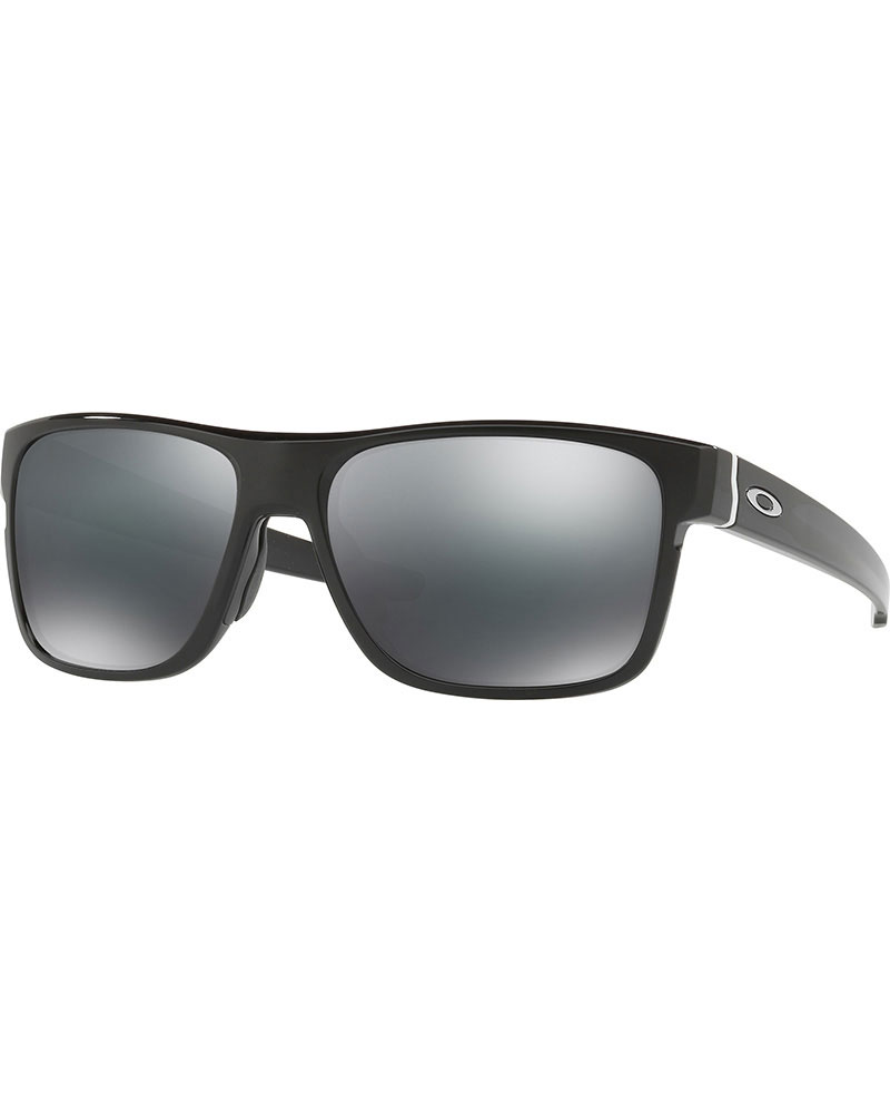 Oakley Crossrange Polished Black / Black Iridium Sunglasses 0