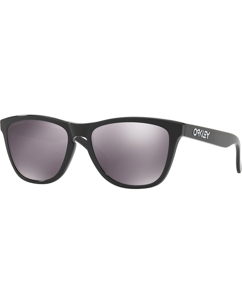 Oakley Frogskins Polished Black / Prizm Black Sunglasses 0