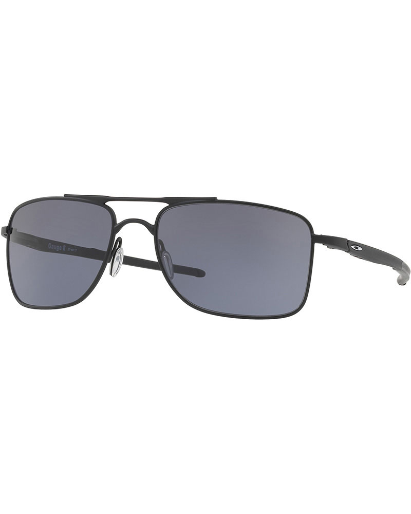 Oakley Gauge 8 Matte Black / Grey Sunglasses Matte Black 0