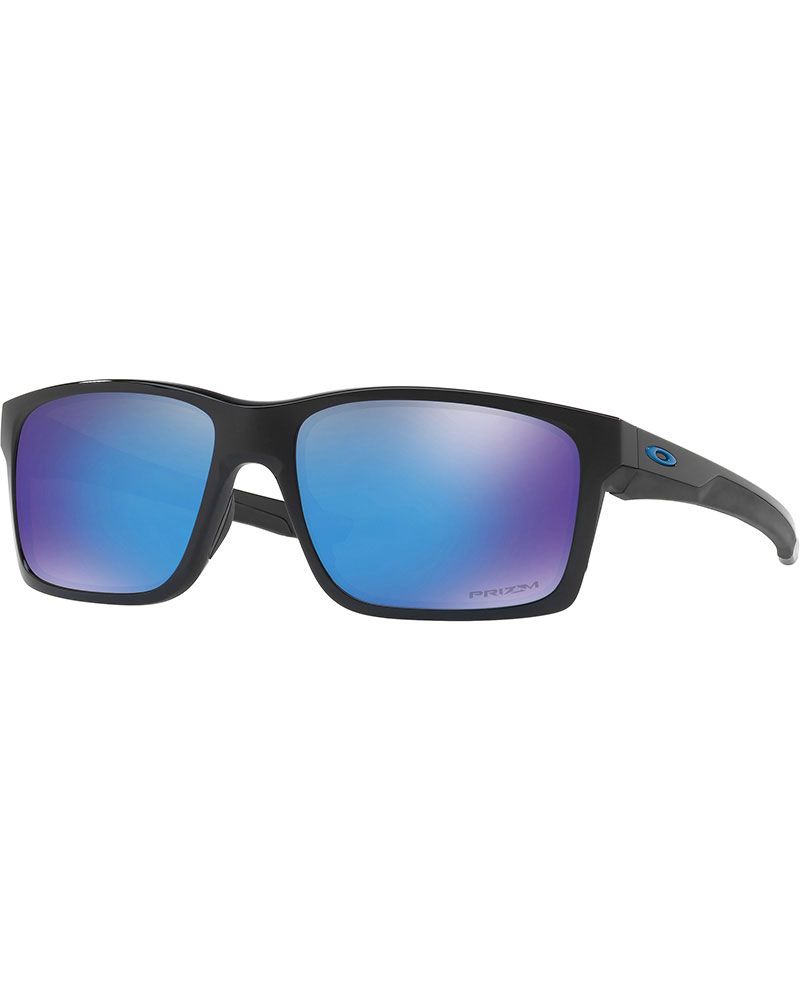 Oakley Mainlink Polished Black / Prizm Sapphire Sunglasses 0