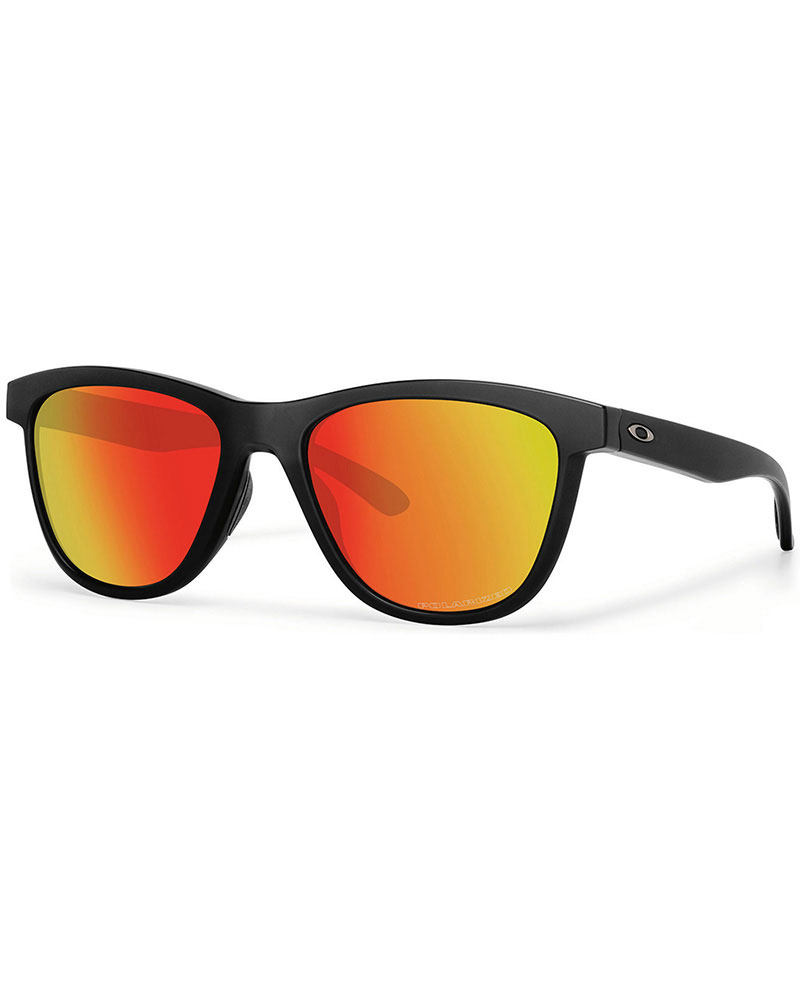Oakley Moonlighter Matt Black / Ruby Iridium Polarised Sunglasses Matt Black 0