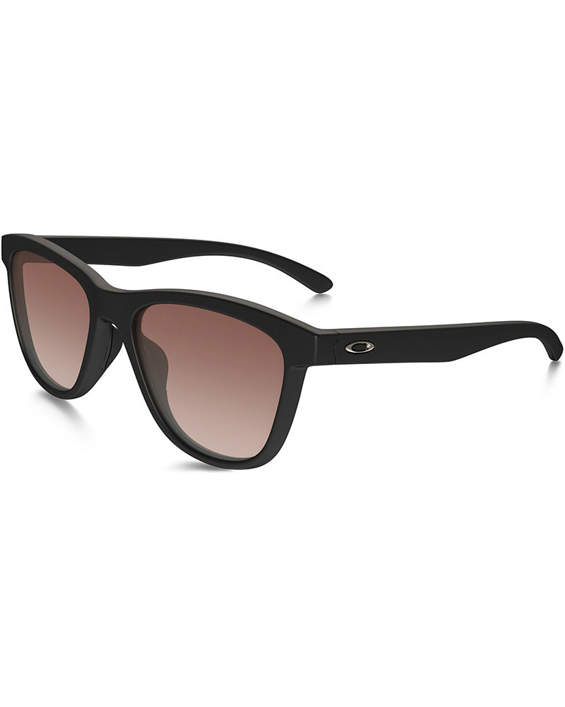 Oakley Moonlighter Matt Black / VR50 Brown Gradient Sunglasses Matt Black 0
