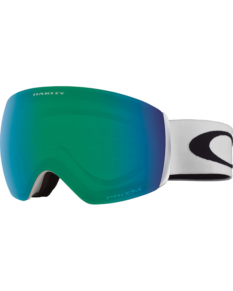 Oakley Flight Deck XM Matte White / Prizm Jade Iridium Goggles 2019 / 2020 0