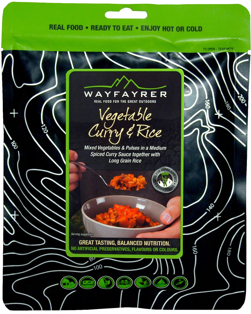 Wayfayrer Vegetable Curry and Rice 0