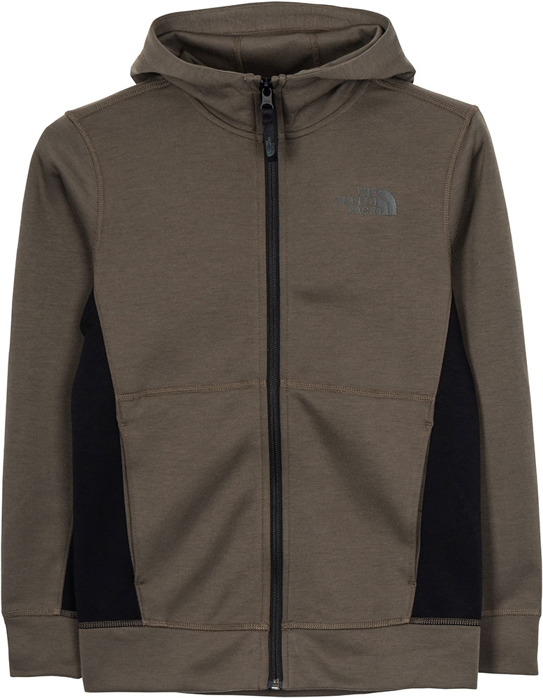 The North Face Boys' Slacker Hoodie XL New Taupe Green 0