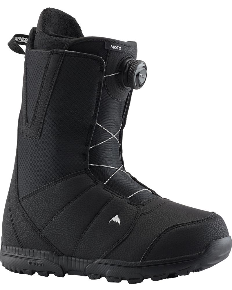 Burton Men's Moto Boa Snowboard Boots 2019 / 2020 Black 0