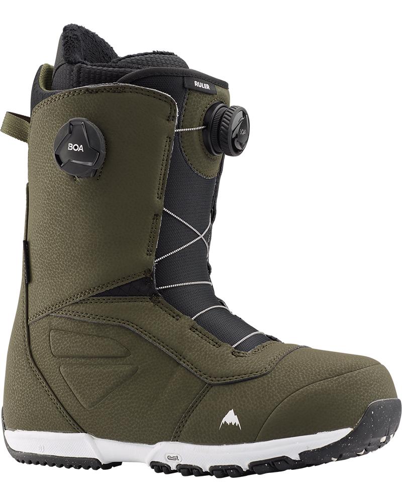 Burton Men's Ruler Double Boa Snowboard Boots 2019 / 2020 Clover 0