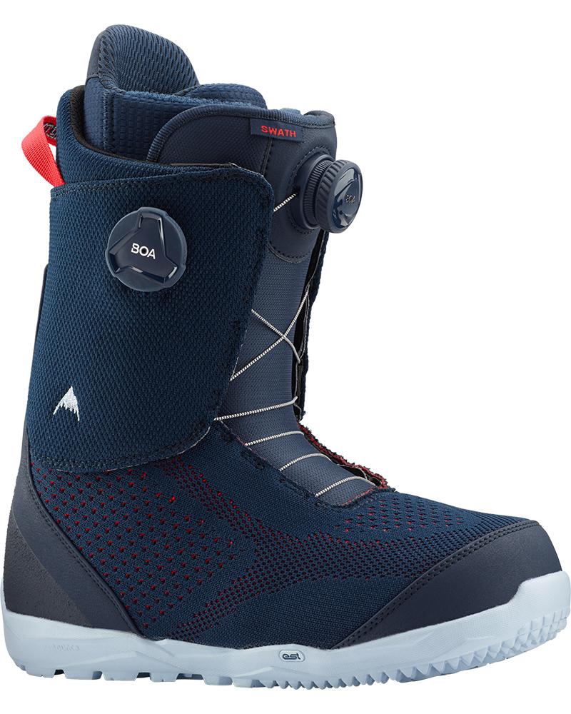 Burton Men's Swath Double Boa Snowboard Boots 2019 / 2020 Blue 0