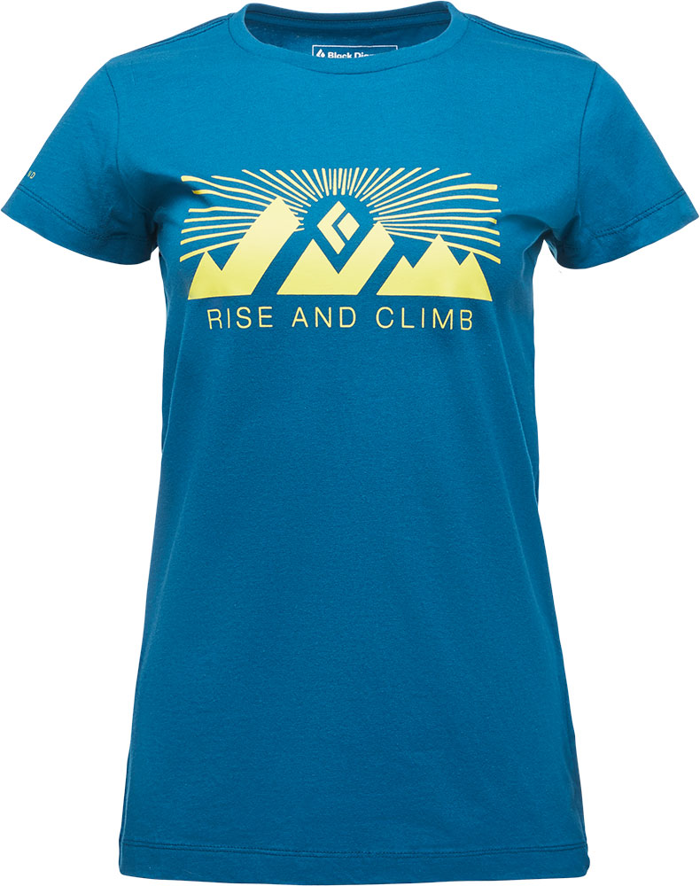 Black Diamond Women's Rise and Climb T-Shirt 0