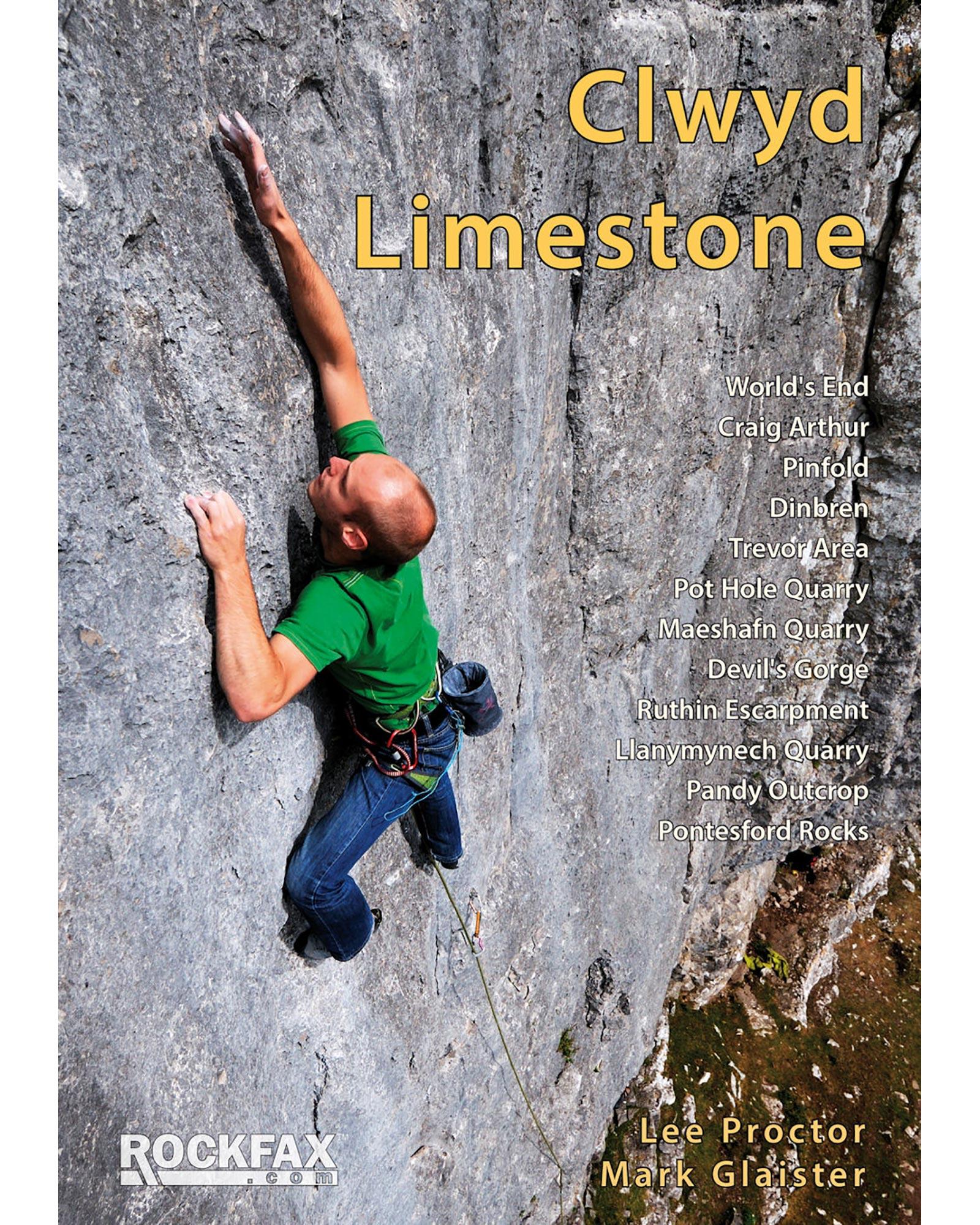 Rockfax Clwyd Limestone Rockfax Guide Book