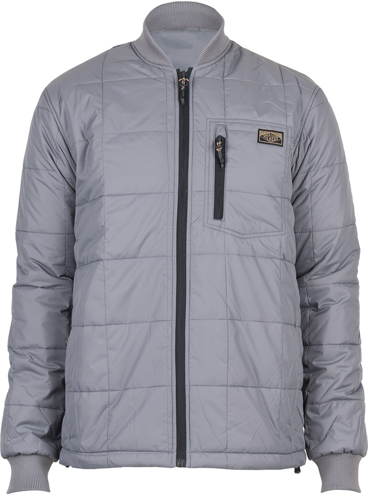 Charging Thunder Men's Great Plains Insulated Jacket Grey 0