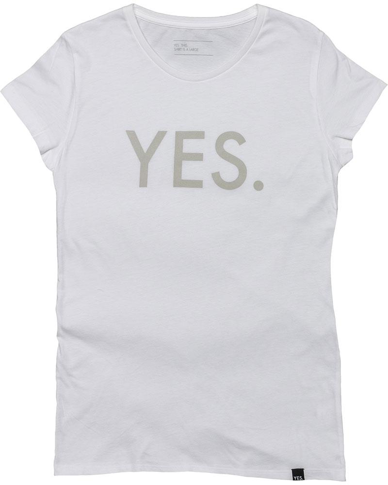 YES Women's Basic T-Shirt 0