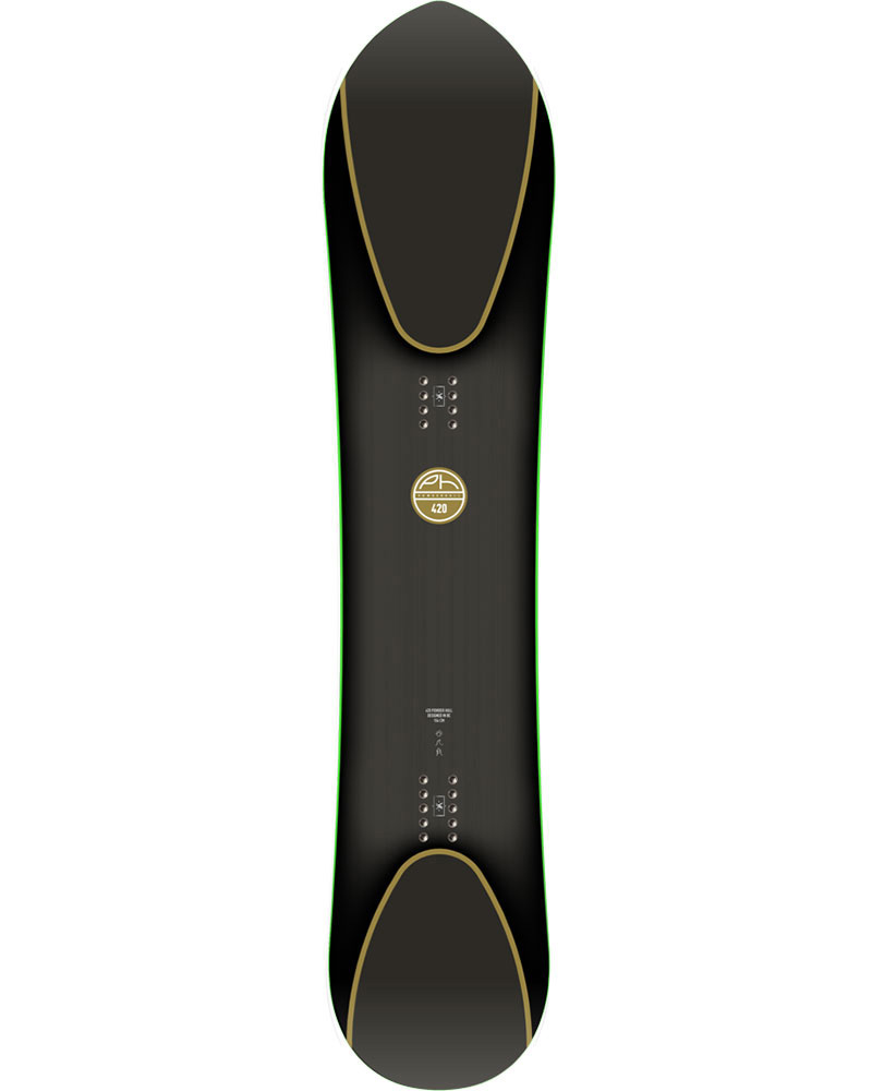 YES Men's 420 Powder Hull Snowboard 2018 / 2019 0
