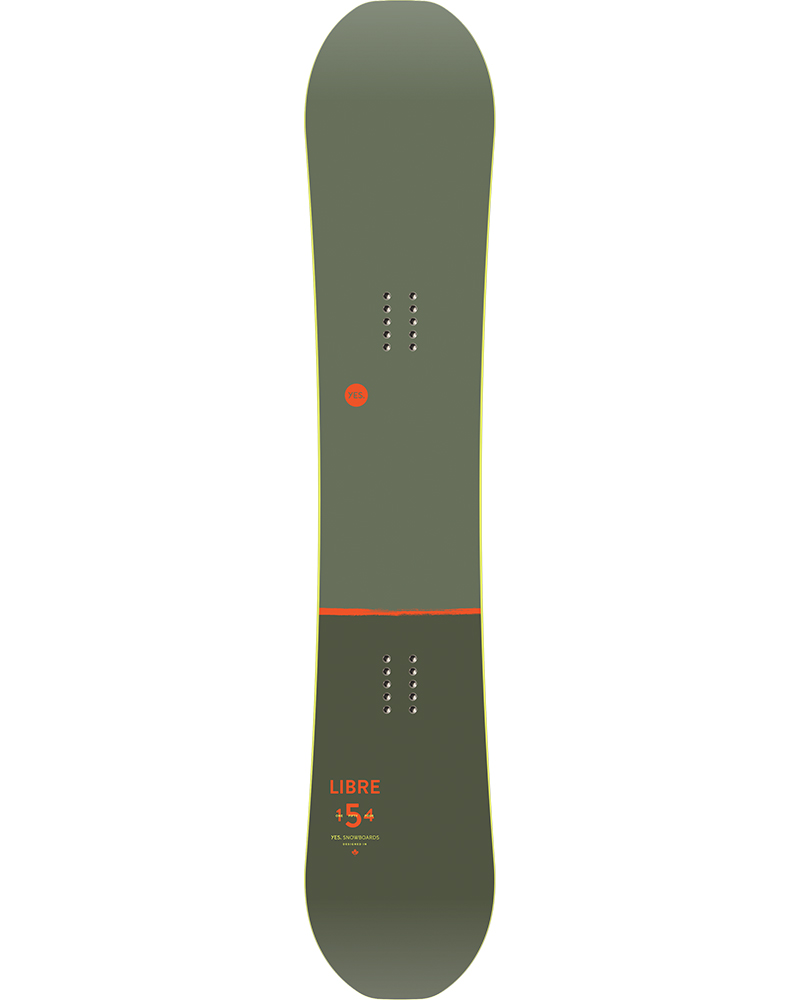 YES Men's Libre Wide Snowboard 2019 / 2020 No Colour 0
