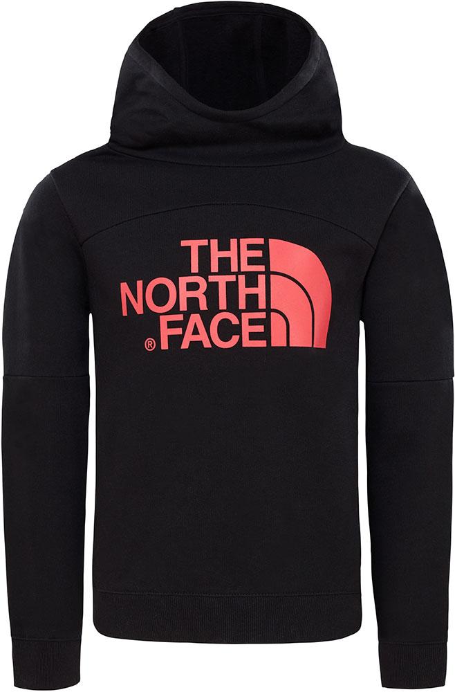 The North Face Girls Drew Peak Hoodie XL TNF Black 0