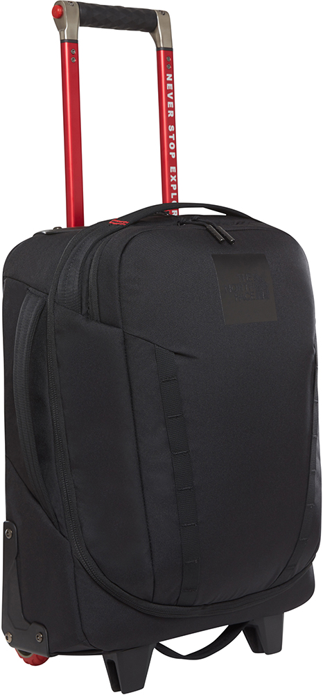 The North Face Overhead 19 Travel Luggage TNF Black 0