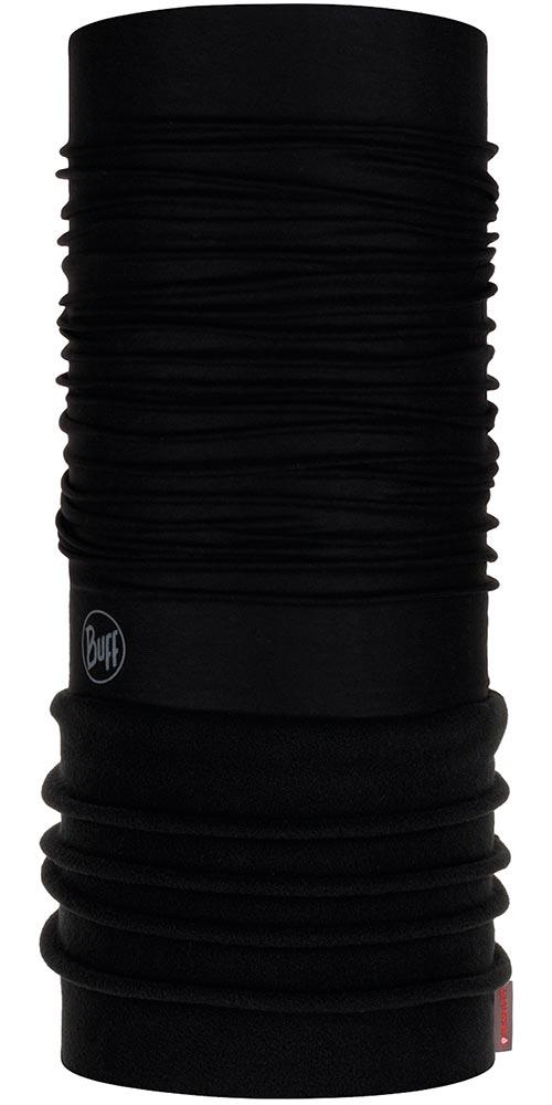 Buff Polar Adult - Solid Black/Black Neck Warmer Solid Black/Black 0