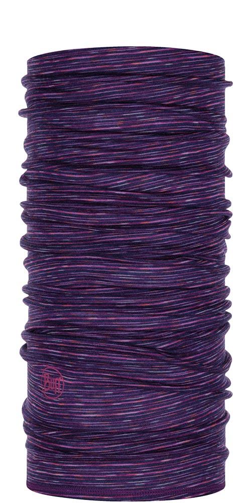 Buff Merino Wool 125 Print - Purple Multi Stripes Neck Warmer Purple Multi Stripes 0