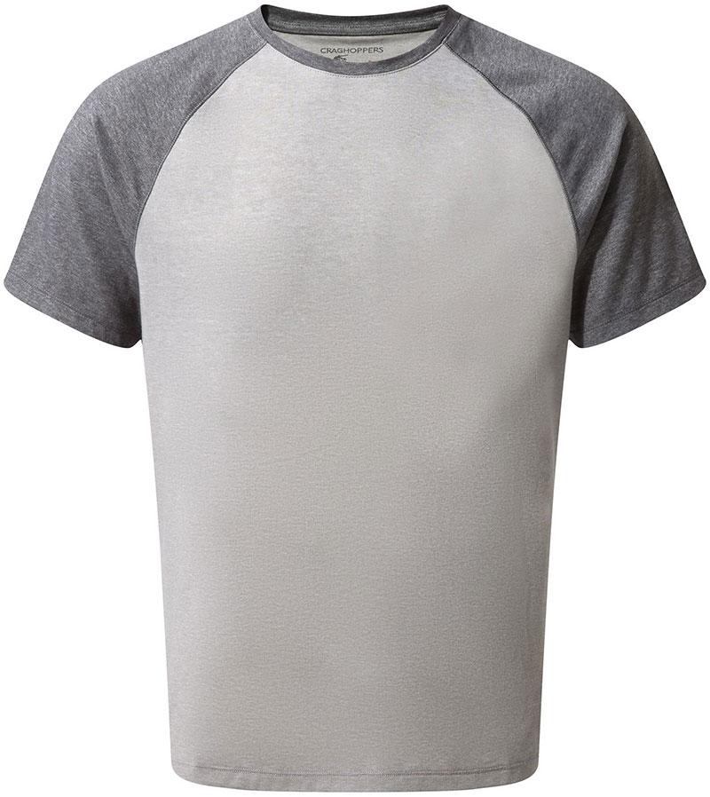 Craghoppers Men's NosiLife S/S Anello T-Shirt Black Pepper/Soft Grey 0