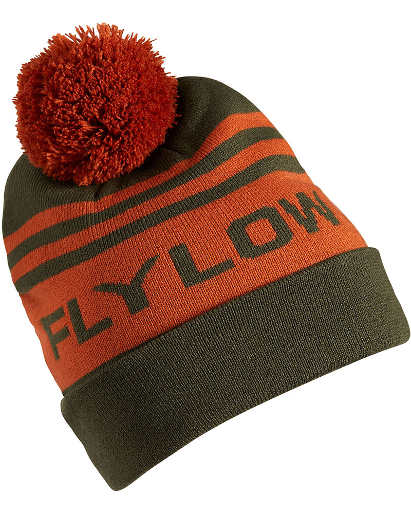 Flylow Men's OG Pom Ski Beanie Kombu/Oxide 0