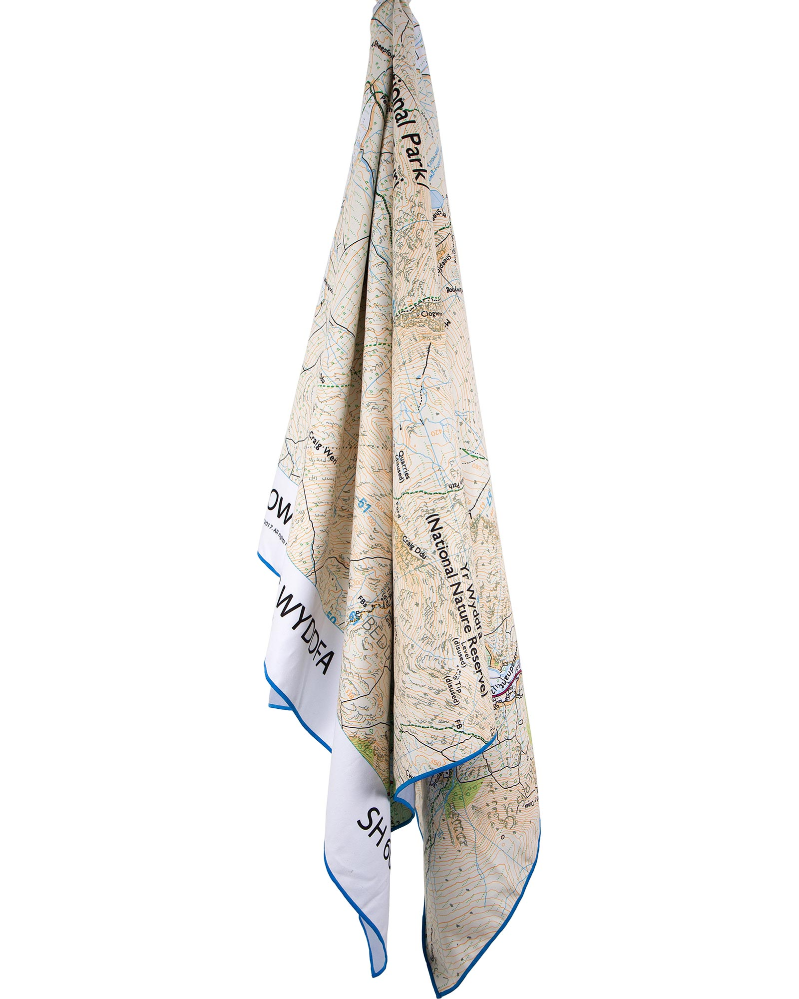 Product image of Lifeventure SoftFibre OS Map Towel - Giant - Snowdon