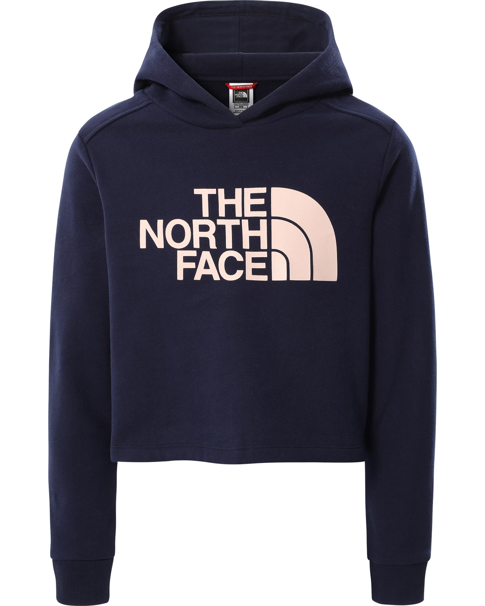 The North Face Girls' Drew Peak Cropped P/O Hoodie 0