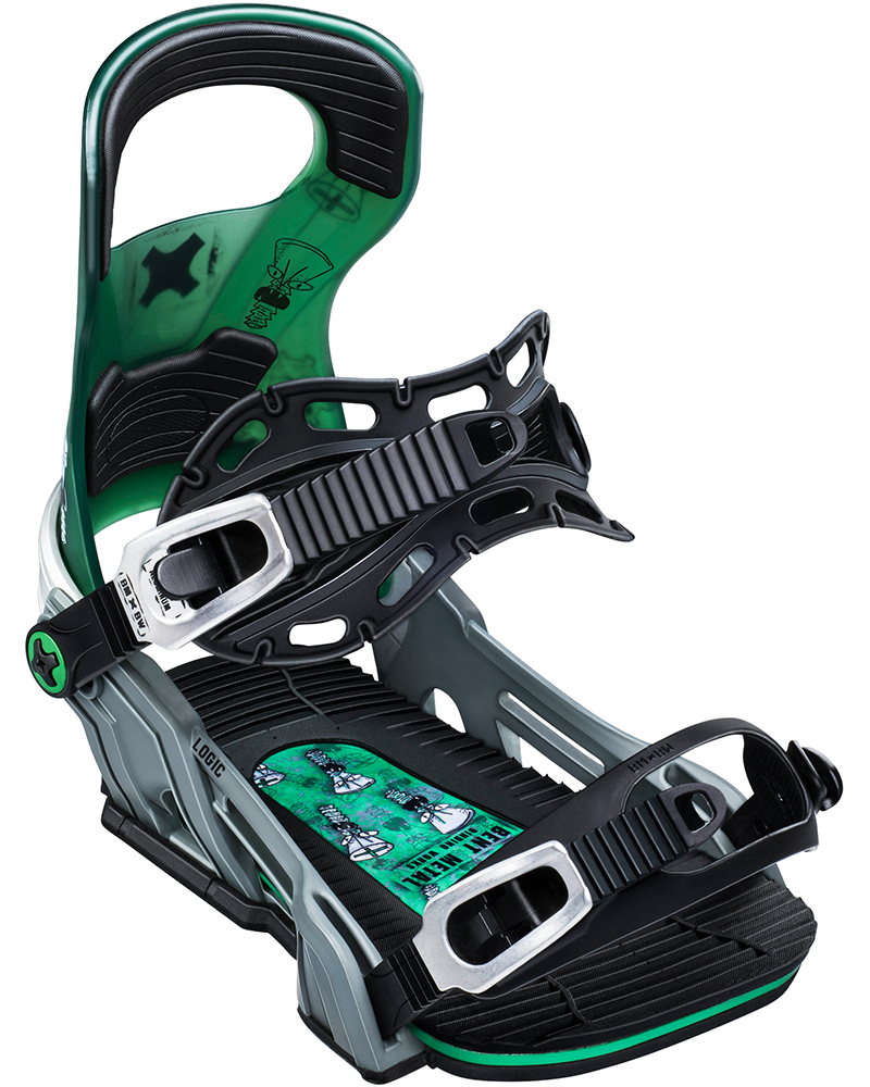 Bent Metal Men's Logic Genovese Snowboard Bindings 2019 / 2020 0