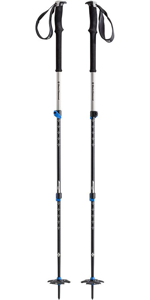 Black Diamond Expedition Walking Poles (Pair) Powell Blue 0