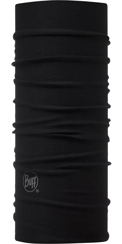 Buff Junior - Solid Black Neck Warmer 0
