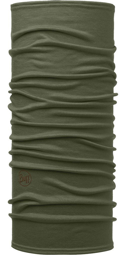 Buff Merino Wool 125 Plain - Solid Forest Night Neck Warmer Solid Forest Night 0