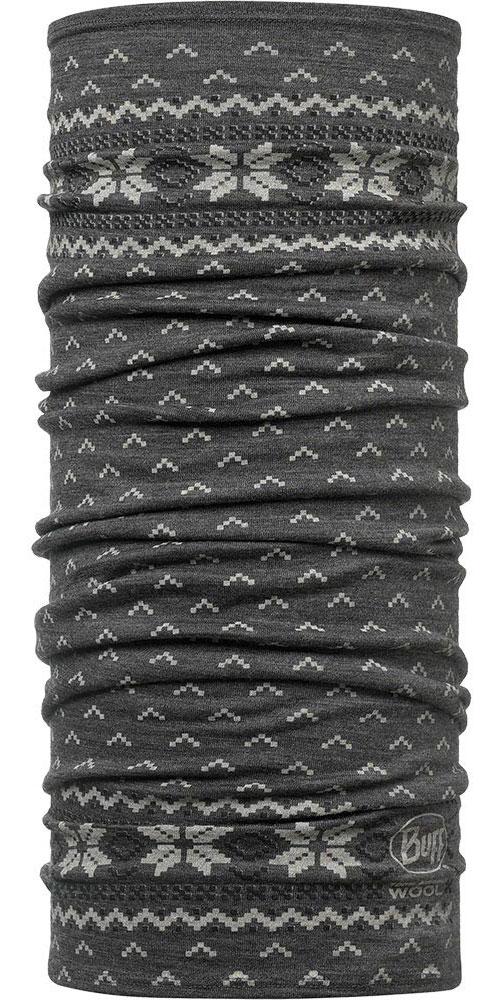 Buff Merino Wool 125 Print - Floki Neck Warmer 0