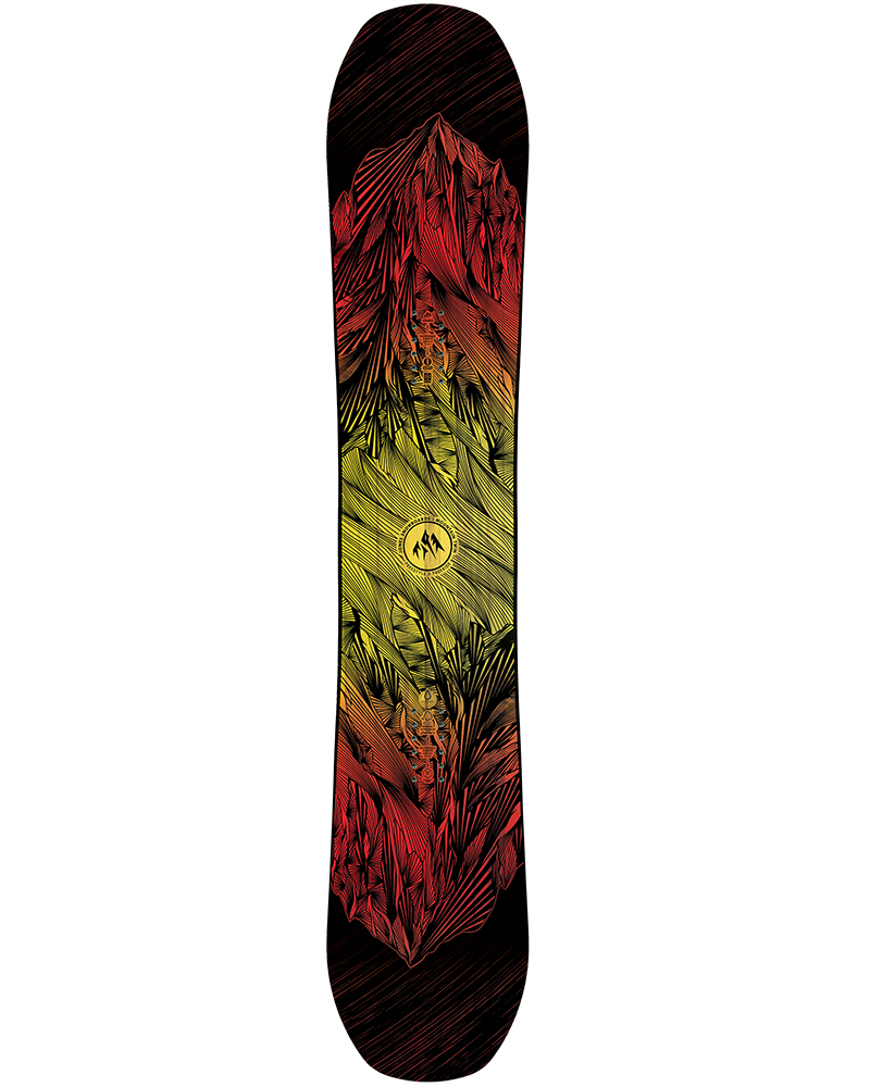 Jones Men's Mountain Twin Snowboard 2019 / 2020 No Colour 0