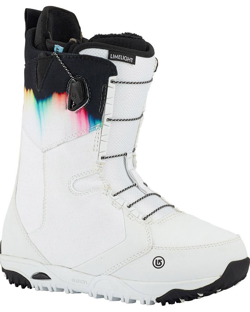 Burton Women's Limelight Snowboard Boots 2017 / 2018 White Spectrum 0