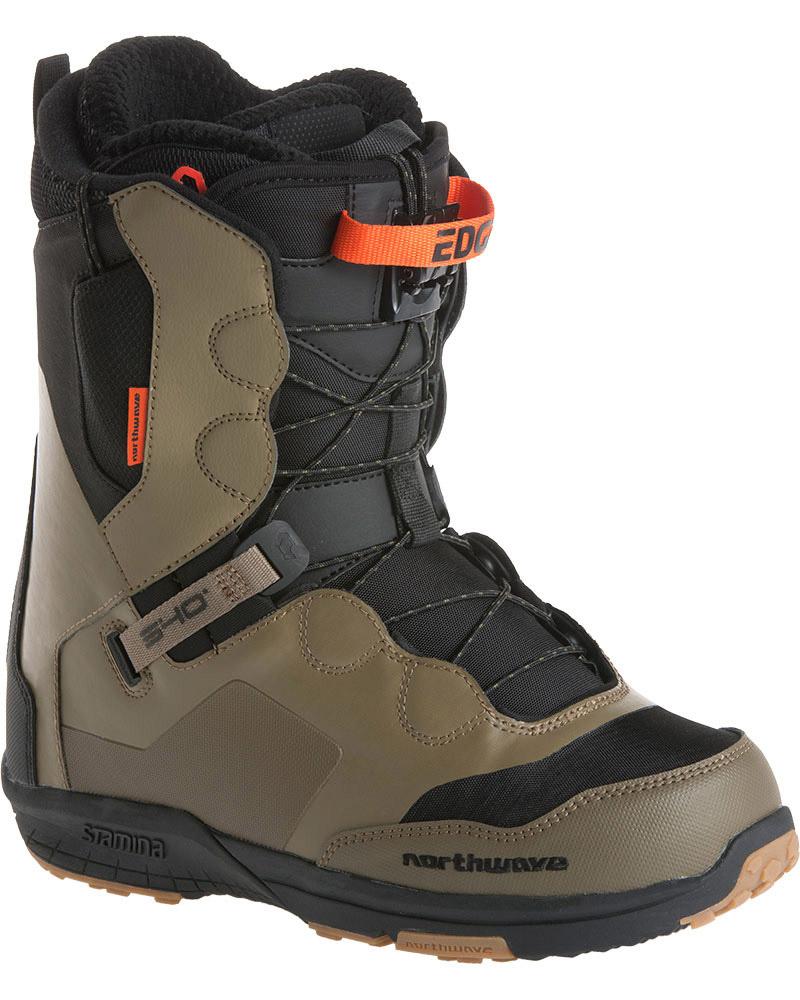 Northwave Men's Edge Snowboard Boots 2017 / 2018 Dark Olive 0
