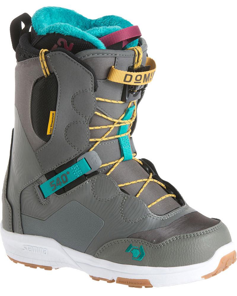 Northwave Women's Domino Snowboard Boots 2017 / 2018 Grey 0