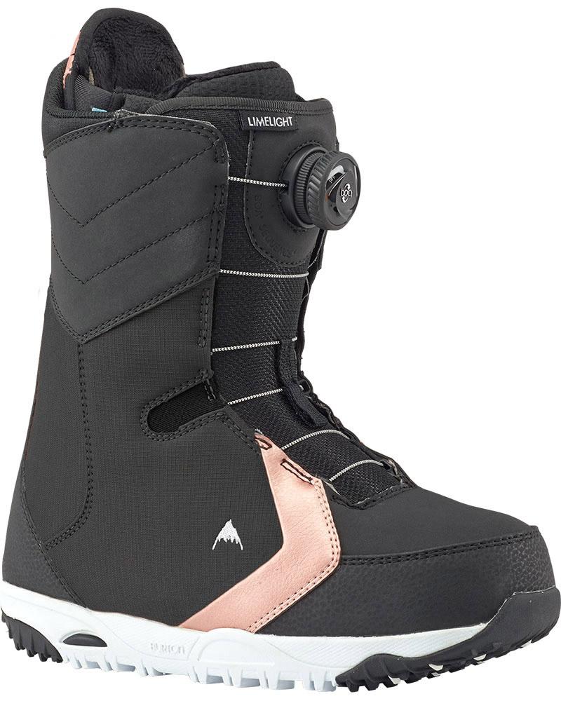 Burton Women's Limelight Boa Snowboard Boots 2018 / 2019 Black 0