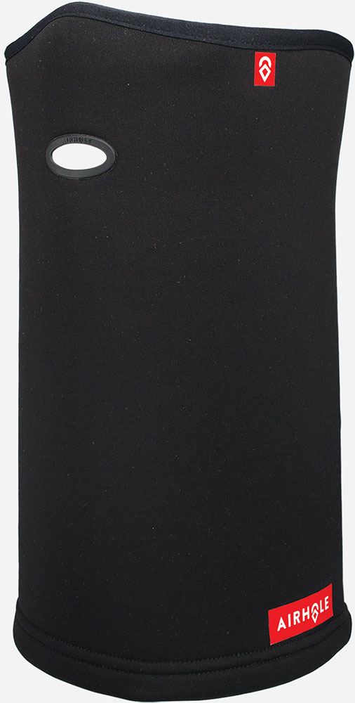 Airhole Polar Fleece Black Face Mask 0