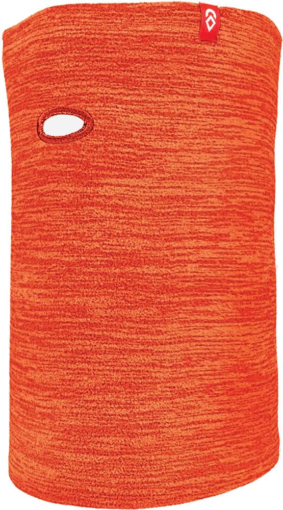 Airhole MicroFleece Heather Orange Face Mask Heather Orange 0